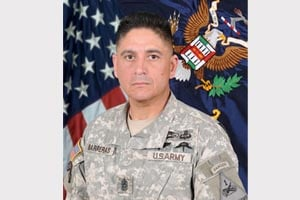 Command Sgt. Maj. Martin R. Barreras (Source: US Army)