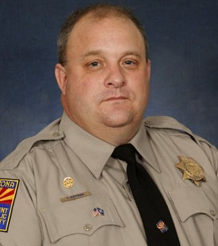 DPS Officer Tim Huffman was killed May 6.