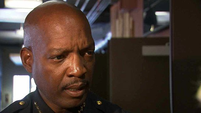 Salt River Police Chief Patrick Melvin said he also graduated from the academy with a shroud on his badge after Phoenix Police Officer Robert Fike had been killed in the line of duty. (Source: CBS 5 News)