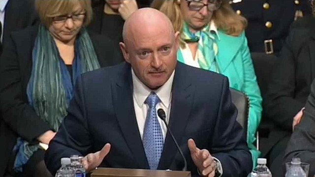 Mark Kelly in a 2013 file photo. (Source: CBS 5 News file)