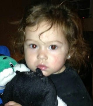 The girl, later identified as Skylynn Altizer, was found wandering a street in Anthem Tuesday morning.