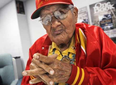 Chester Nez, the last original Navajo Code Talkers, passed away at age 93. (source: http:\\www.time.com)