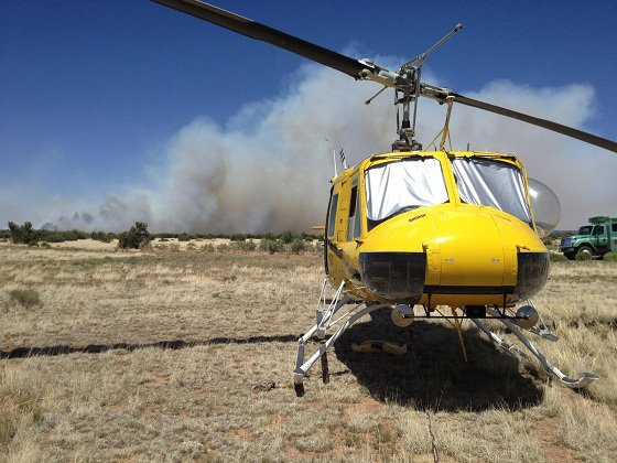 The fire has grown to more than 1,000 acres. (Source: inciweb)