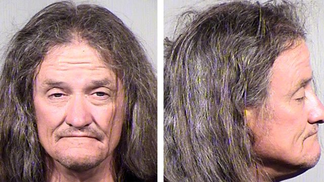 Gary Moran, 54, has been arrested in connection with the shooting death of a Catholic priest in Phoenix on Wednesday. (Source: Maricopa County Sheriff's Office)