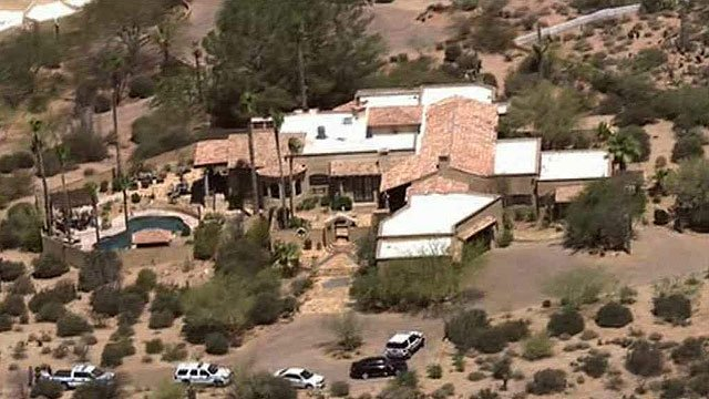 A 2-year-old girl visiting the Valley with her family drowned Wednesday in the swimming pool of north Scottsdale house the family was renting. (Source: CBS 5 News)