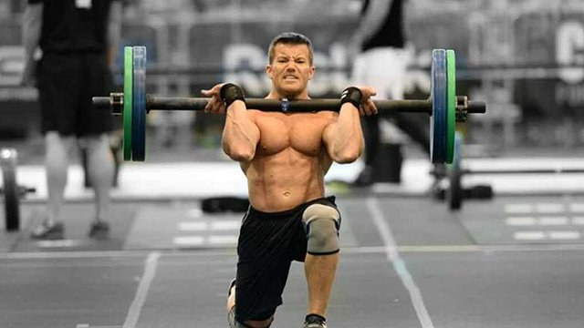 Fine later learned he was already stage three with tumors in his brain when he competed and placed 16th in the world at the CrossFit game last year. (Source: Jason Fine)