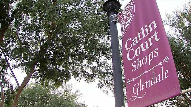 Business owners in Glendale's Catlin Park said crime has increased in their area with an influx of homeless persons. (Source: CBS 5 News)