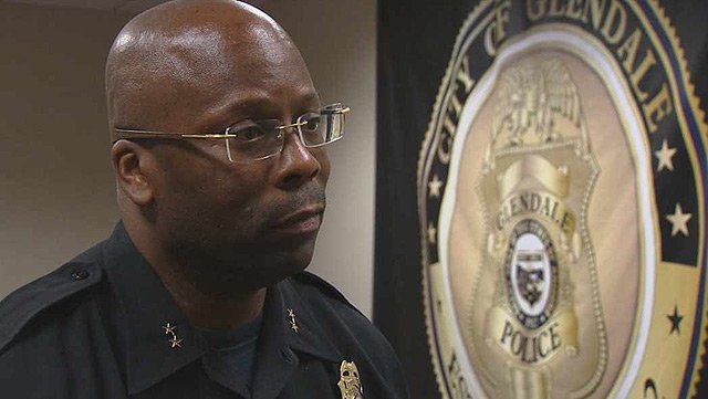 Glendale Police Commander Andre Anderson said officers understand the problem and a crisis team was created and patrols increased in the area. (Source: CBS 5 News)