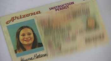 Arizona MVD issues driving permits with wrong pictures. (Source: CBS 5 News)