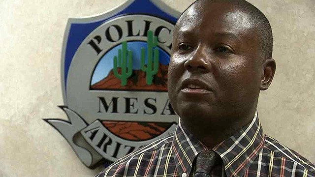 But Mesa Police Det. Steve Berry said officers advised Walsh against jumping in. (Source: CBS 5 News)