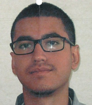 An arrest warrant was issued for 22-year-old Caesar Nunez, who's from Culver City, CA.