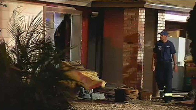 Two elderly people were found dead in this Chandler home after a fire early Wednesday morning. (Source: CBS 5 News)