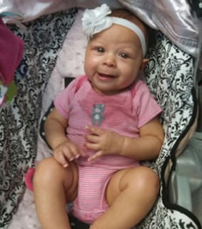 6-month-old Laylani Mosley (Source: Huntington Beach Police Department)