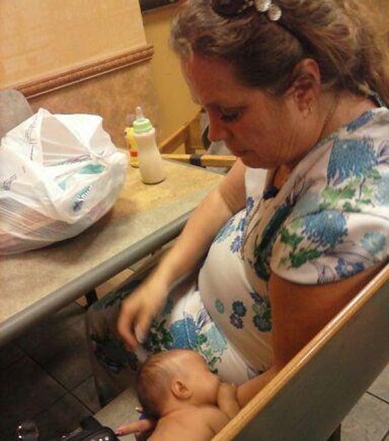 Akins said Ferguson claimed to be the baby's mom. (Source: Lindsey Reiser / CBS 5 News)