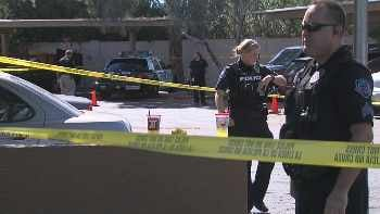 The child was pronounced dead at the hospital. (Source: CBS 5 News)