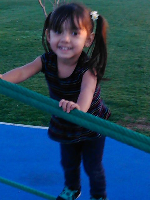 The victim is identified as 3-year-old Jaquelin Mendoza. (Source: Family photo)