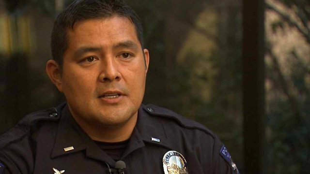 """""""We have these three victims, these three girls, two 15-year-olds and one 16-year-old that were put into this life that they didn't choose,"""" said Tempe police Lt. Michael Pooley. (Source: CBS 5 News)"""