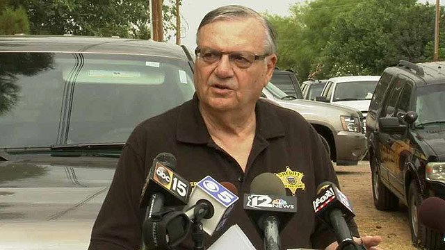 Maricopa County Sheriff Joe Arpaio said deputies seized records and computers from a dog boarding facility in Gilbert on Wednesday. (Source: CBS 5 News)