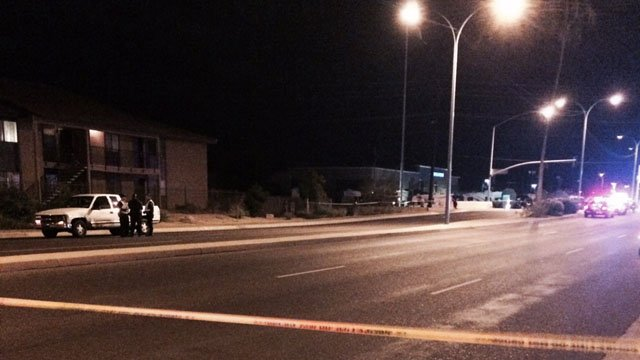 Mesa girl, 5, killed crossing the street Saturday night. (Source: CBS 5 News)