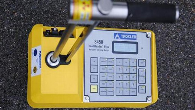 A soil testing meter like this one was stolen. (Source: Phoenix Police Department)