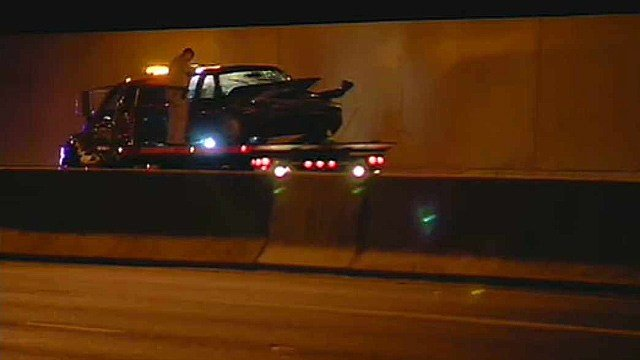 A wrong-way driver on State Route 51 was involved in a minor collision Tuesday morning. (Source: CBS 5 News)