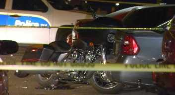 The victim, whose name hasn't been released, was rushed to a local hospital, where he later died. (Source: CBS 5 News)