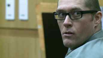 Bryan Hulsey in court awaiting the verdict July 28. (Source: CBS 5 News)