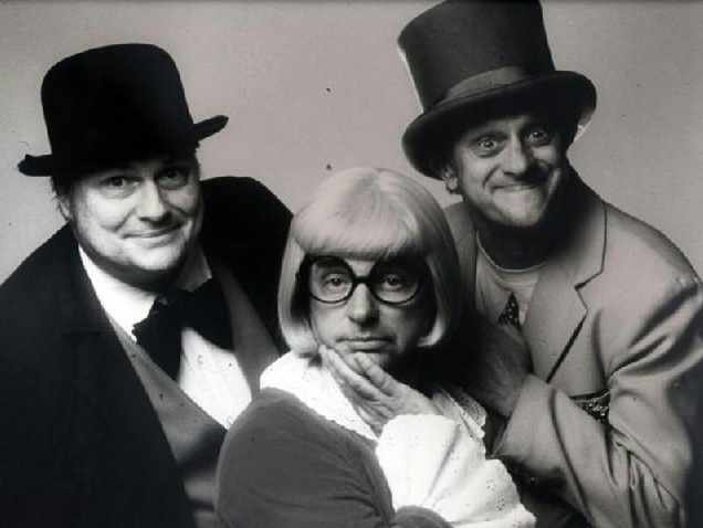 Publicity shot for the 'Wallace and Ladmo' Show. (Source: KPHO-TV)