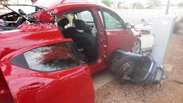 Car Accident August   Us  Mesa Az