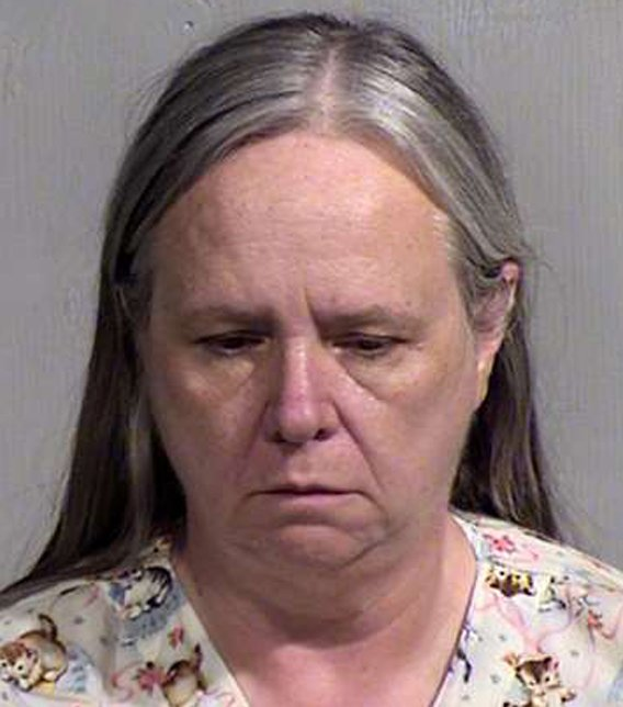 Cat rescue volunteer Sharon Weber was arrested. (Source: Maricopa County Sheriff's Office)