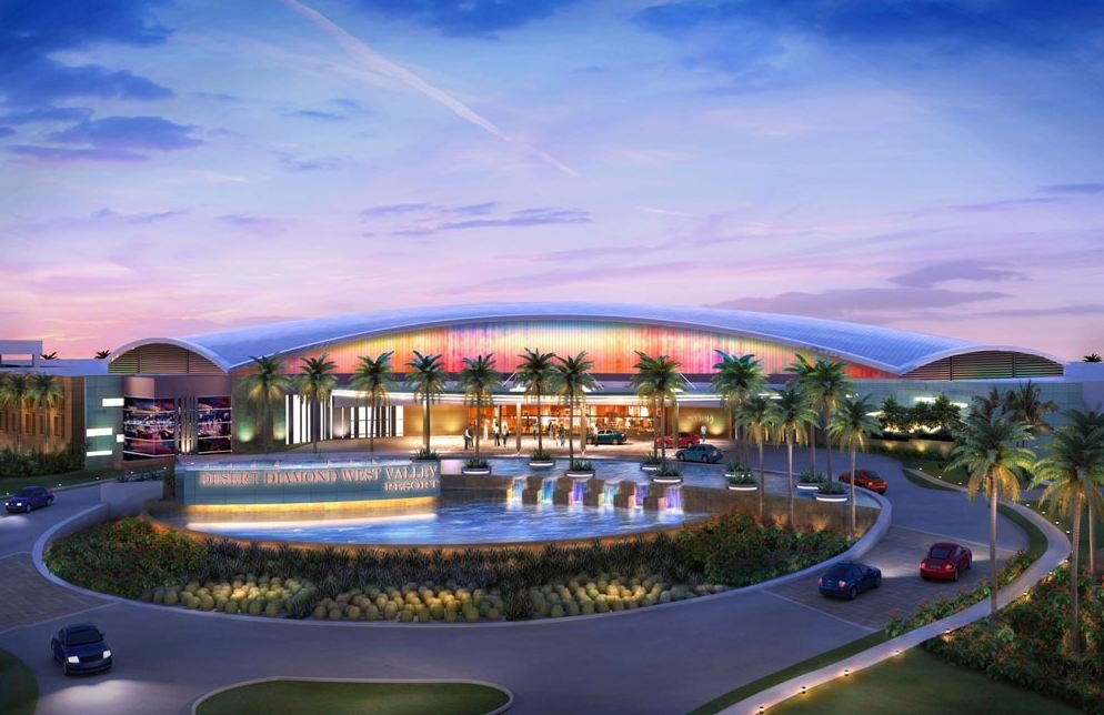 Rendering of proposed West Valley Resort (Courtesy: Tohono O'Odham Nation)