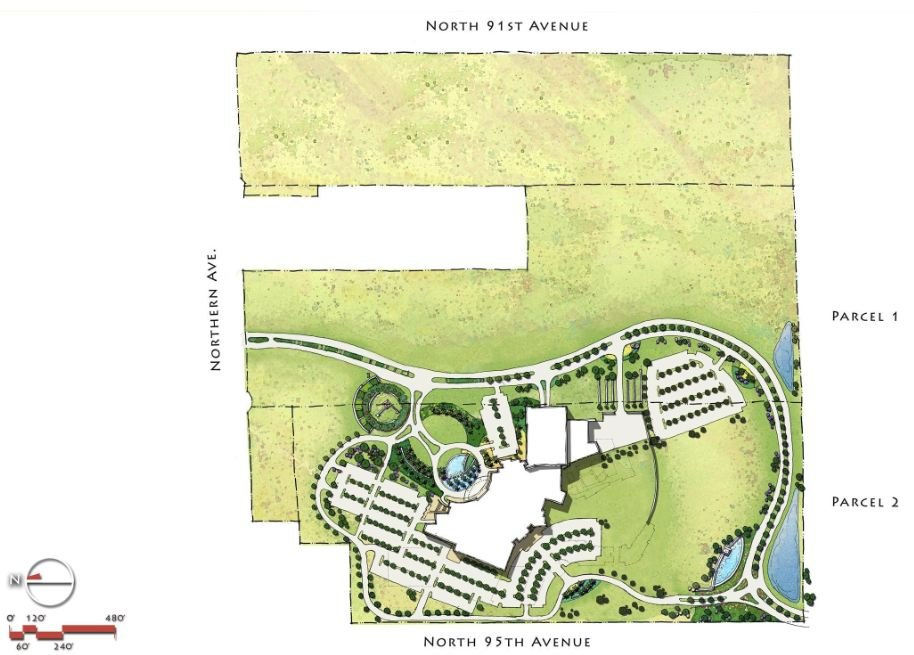 Proposed West Valley Resort (Courtesy: Tohono O'Odham Nation)
