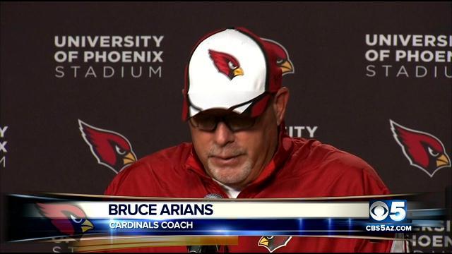 Cardinals Coach Bruce Arians (Source: CBS 5 News)