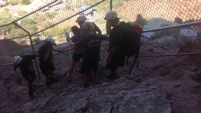 Those rescued on Sunday are expected to be OK. (Source: Phoenix Fire Department)