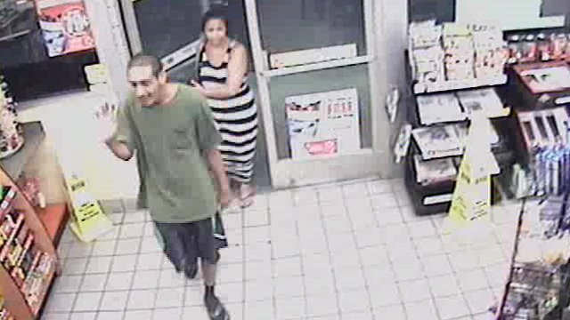 A surveillance image of the suspects. (Source: Yavapai County Sheriff's Office)