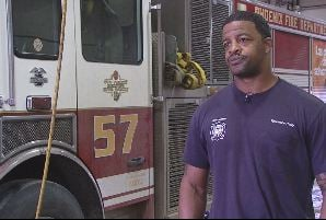 Phoenix firefighter Terrance Petty.