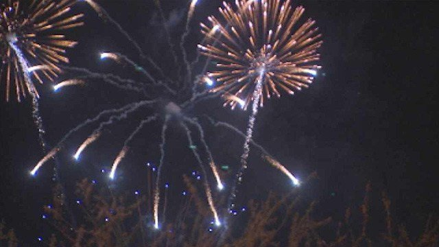A pyrotechnician from Utah was in critical condition at a Las Vegas hospital after he was struck in the head by a malfunctioning fireworks display Thursday night in Kingman. (Source: CBS 5 News)