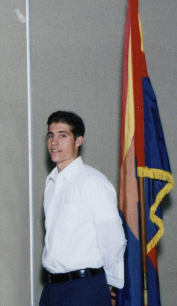 James Foley at Lowell Elementary School for 1998-1999 school year. (Source: Phoenix Elementary School District)