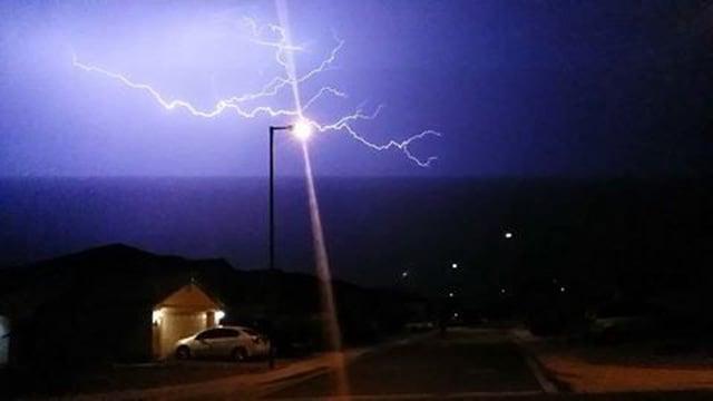 Buckeye resident Josh Green sent us this photo Thursday night. (Source: Josh Green)