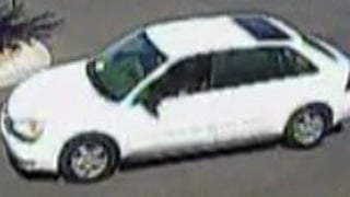The man fled in a white 2005 to 2006 Chevrolet Malibu Maxx.  (Source: Surprise Police Department)