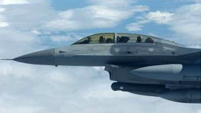 F-16D fighter jet (Source: Senior Airman Joshua Strang/Air Force)