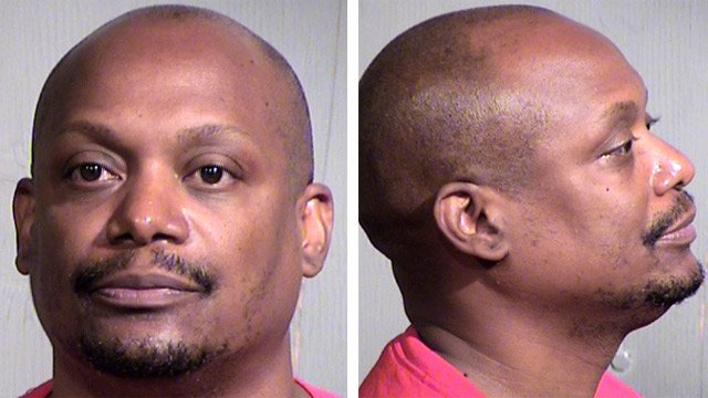 Michael Crumity, 44, is suspected of sexually assaulting a woman before and after an order of protection was granted by Avondale City Court. (Source: Maricopa County Sheriff's Office)