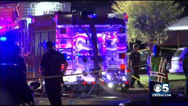 The cause of the fire is under investigation.  (Source: CBS 5 News)