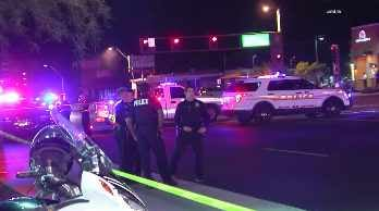 The crash happened around 2:40 a.m. Sunday at Rural Road and Apache Drive. (Source: CBS 5 News)