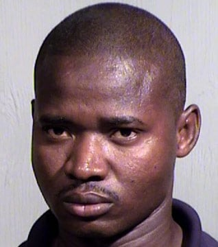 Tarley Seeze Jellow, 34, an eight-year employee of FedEx, was booked into the Fourth Avenue Jail on Saturday on charges of trafficking in stolen property and theft-control of stolen property. (Source: Maricopa County Sheriff's Office)