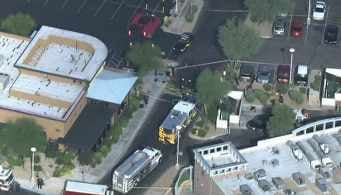 It happened at the Promenade Shopping Center in Scottsdale. (Source: CBS 5 News)
