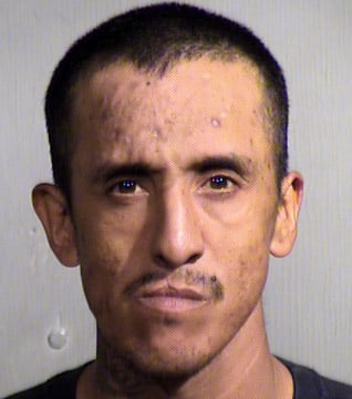 Jesus Salas, 29, was caught as he tried to run from the Maryvale home of Linda Tims about 7 a.m. Tuesday. (Source: Maricopa County Sheriff's Office)