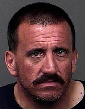 Vincent Demarco, 47, was booked into jail on eight felony counts, including impersonating a federal law enforcement officer. (Source: Mohave County Sheriff's Office)