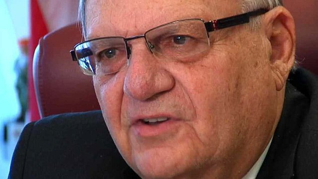 The Maricopa County Sheriff's Office received about 200 weapons through a federal program and Sheriff Joe Arpaio admits that over the years his office has lost track of eight handguns and a rifle. (Source: CBS 5 News)