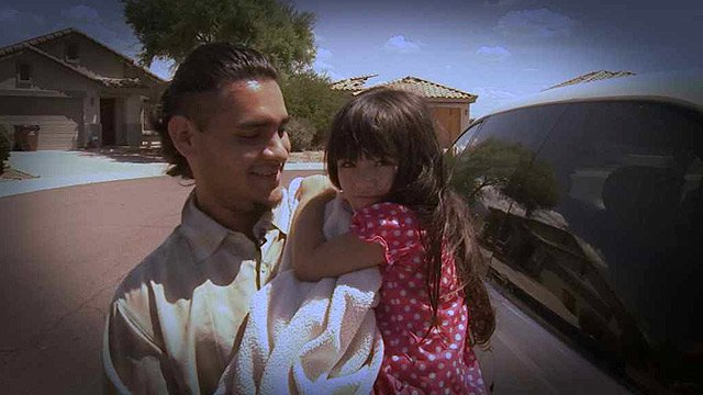 Raymond Banda never thought he would be a single father at just 22, but with 3-year-old Atheina's mother out of the picture, he is left to keep tabs on their rambunctious and giggly little girl. (Source: CBS 5 News)